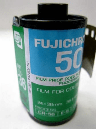 Fujichrome ISO 50 RF 135-36 Exposure