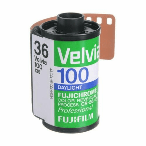 Fujichrome Velvia 100 RVP 35mm x 36 exp Roll