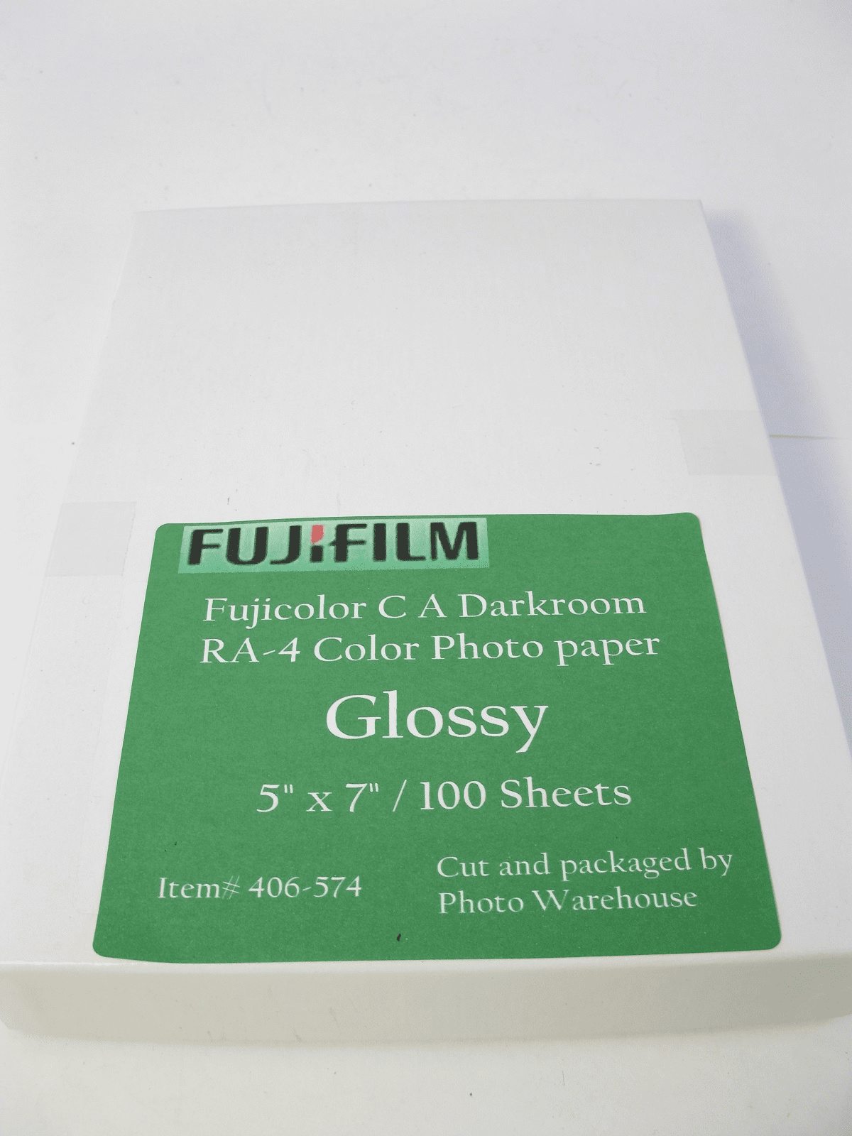 "Fujicolor C A Darkroom  RA-4 Color Photo paper 5"" x 7"" / 100 Sheets Glossy"