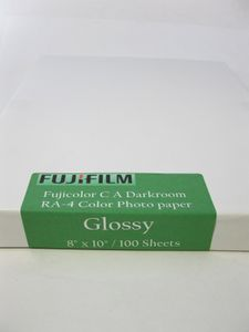 Fujicolor C A Darkroom RA-4 Photo Color Paper Glossy Surface - Cut and Packaged by Photo Warehouse