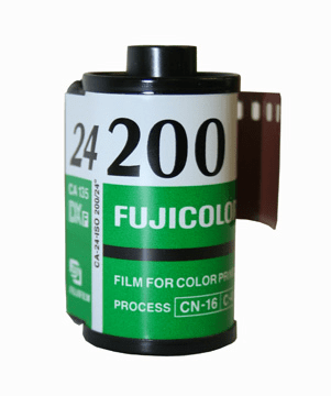 Fujicolor CA 200 Color Print Film 35mm x 24 Exp.