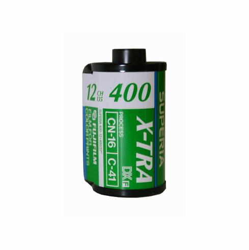 Fujicolor CH 400 Color Print Film 35mm x 12 Exp.