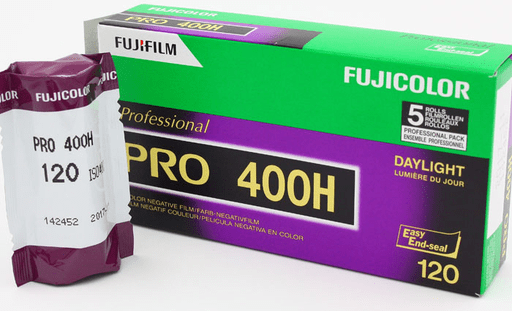 Fujicolor Pro 400H Portrait 120 5-Pack 10/2018 Dating