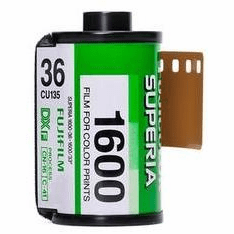 Fujicolor Superia 1600 Color Print Film  36 Exp. - Last Call