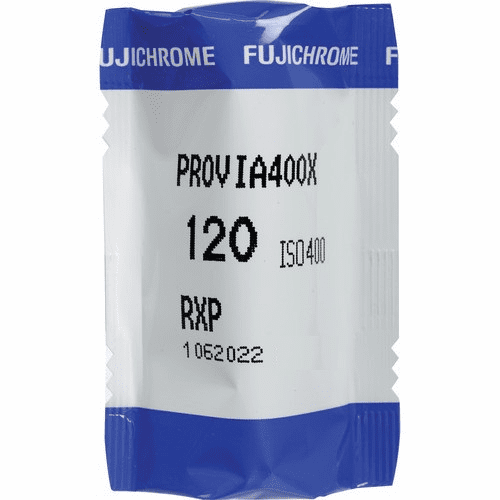 FUJIFILM Fujichrome Provia 400X RXP III 120 Color Slide Film