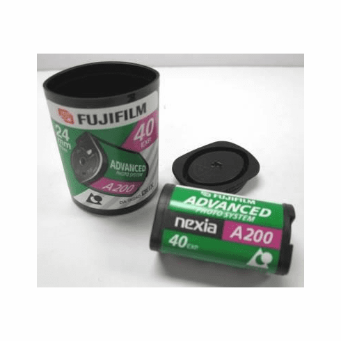 Fujifilm Fujicolor Advanced Photo System APS Nexia 200 - 40 Exp Film