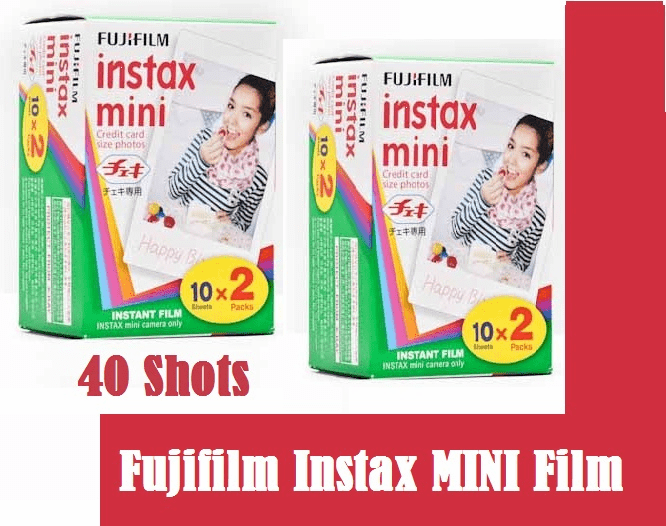 FujiFilm INSTAX Mini Instant Film 40 Pack with 05/2017 dating SPECIAL