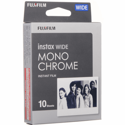 Fujifilm instax Wide Monochrome Instant Film (10 Exposures)