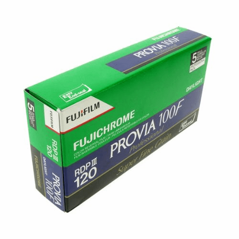 Fujifilm Pro RDP-III 100F Provia 120 Format  - 05/2012 Dating  5 Pack Special
