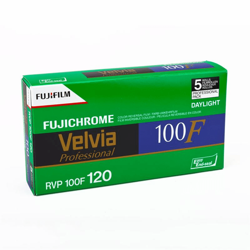 Fujifilm Pro RVP-III 100F Velvia 120 Format - 05/2012 Dating  5 Pack Special