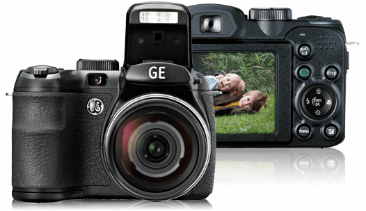GE Digital Point-and-Shoot Cameras