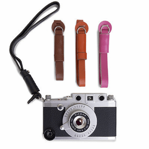 Gizmon iCa Leather Wrist Strap