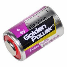 Golden Power PX27 Alkaline 6 Volt Battery
