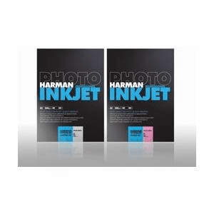 Harman Crystaljet Photo Inkjet 8.5 x 11 / 10 Luster/Gloss SAMPLER