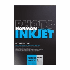 Harman Crystaljet Photo Inkjet 8.5 x 11 / 100 Luster Paper