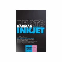 Harman Crystaljet Photo Inkjet 8.5 x 11 / 250 Gloss Paper