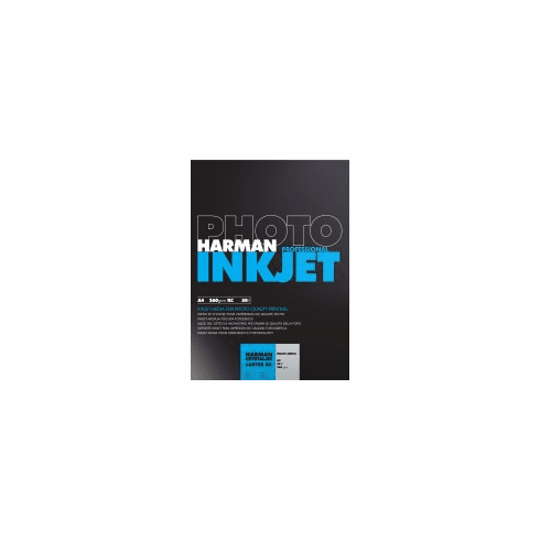 Harman Crystaljet Photo Inkjet 8.5 x 11 / 250 Luster Paper