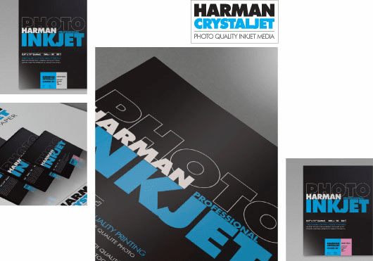 Harman Crystaljet Photo Inkjet 8.5 x 11 / 50 Gloss Paper