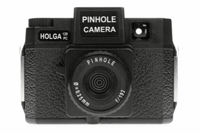 Holga 120 Camera PINHOLE Black 120PC