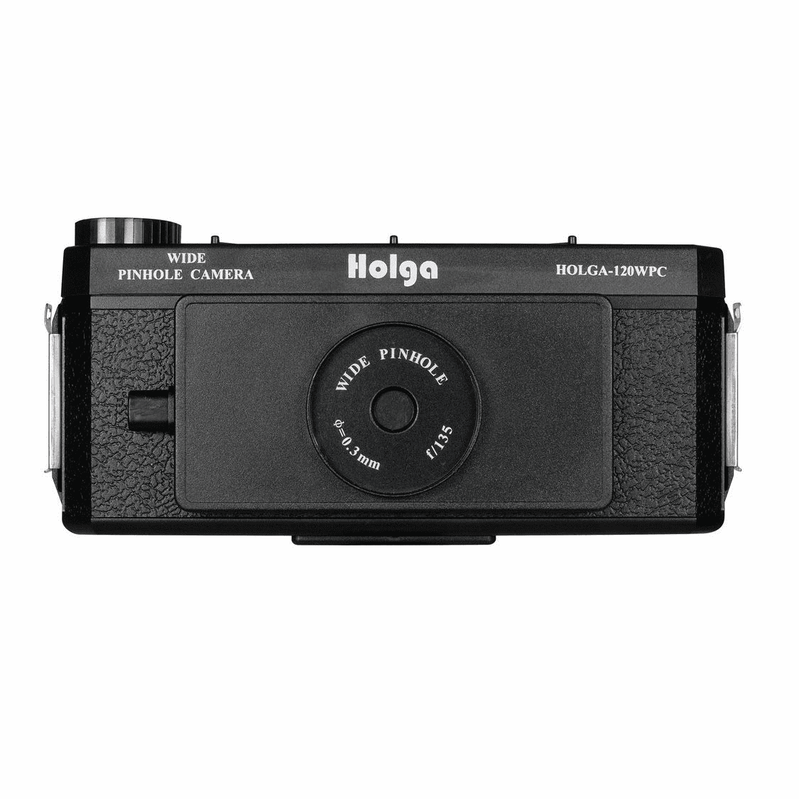 Holga 120 Camera Wide Pinhole Camera Black 120WPC