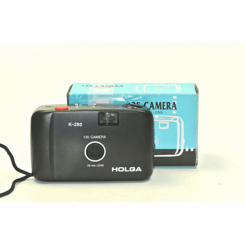 Holga 135 35mm Point and Shoot Camera with 28mm Lens K-280