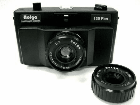 Holga 135 PAN 35mm Panoramic Camera With Interchangeable Pinhole Lens