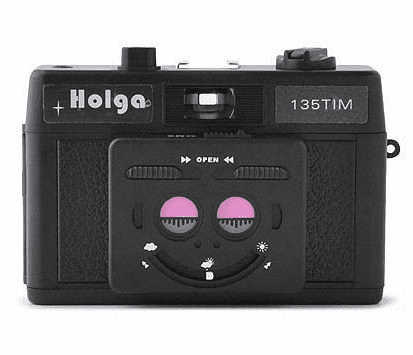 Holga 35mm TIM Twin Image Maker 135TIM Camera Black