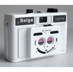Holga 35mm TIM Twin Image Maker 135TIM Camera WHITE