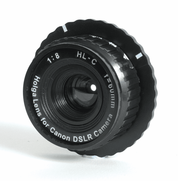 Holga 60mm f/8 Lens for Canon DSLR Camera