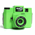 Holga HolgaGlo 120N Glow in the Dark Camera Neon Green
