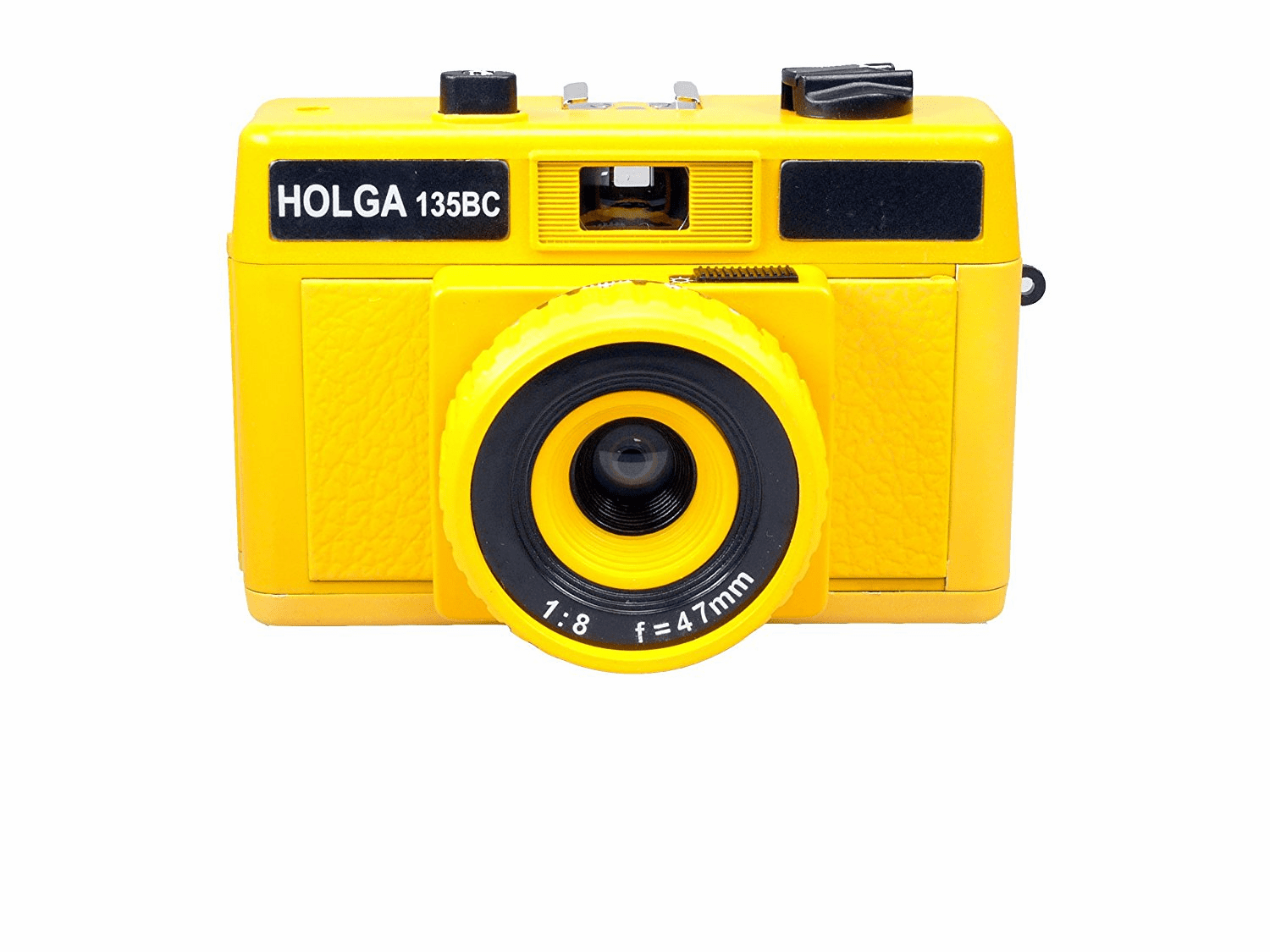 Holga Holgaglo Glow in the Dark 135BC 35mm Camera Yellow