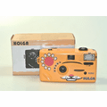 Holga Orange Cat 35mm Nya-Nya Noise Making 35mm Film Camera K-202