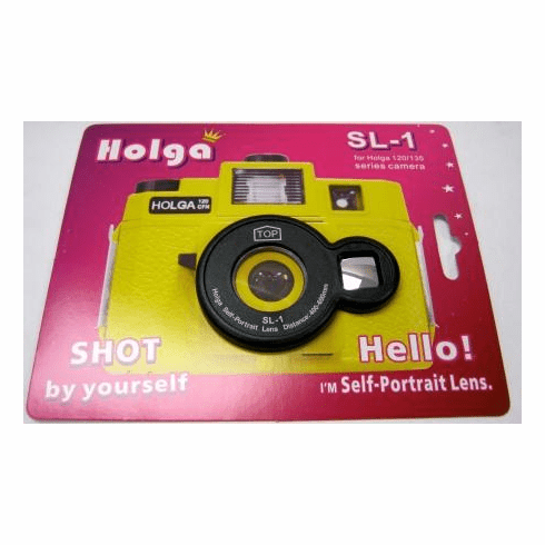 Holga SL-1 Self Portrait Lens for Selfies with Holga 120/135 Camera