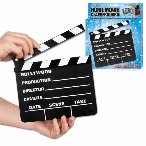 Home Movie Clapperboard