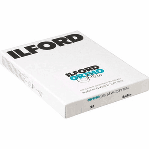 Ilford 2019 Manufacturing Program Ortho Plus Film