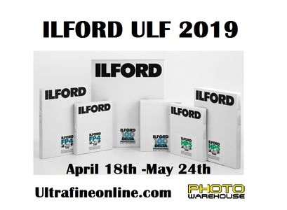Ilford 2019 Ultra Large Format (ULF) Film Program