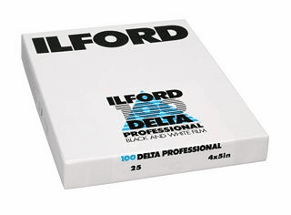 Ilford 2019 ULF Program Delta 100 Film