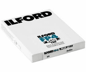 Ilford 2019 ULF Program FP4+ 125 Film