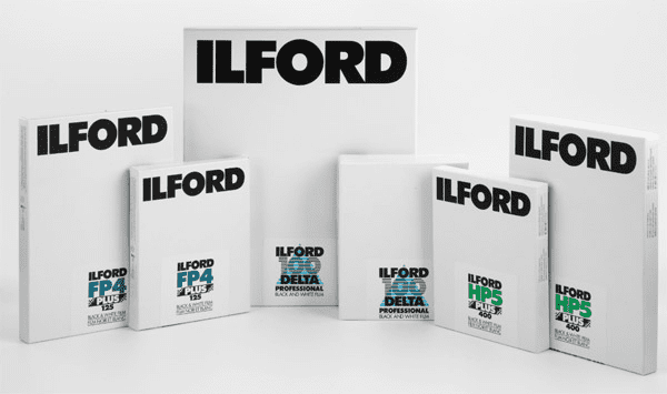 Ilford Black and White Sheet Film Active Stock ULF