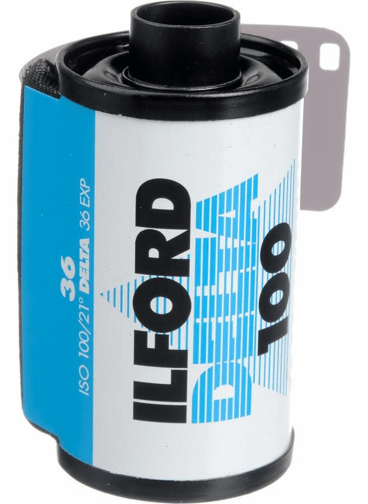 Ilford Delta 100 Professional Black-and-White Film ISO 100 35mm 36-Exp