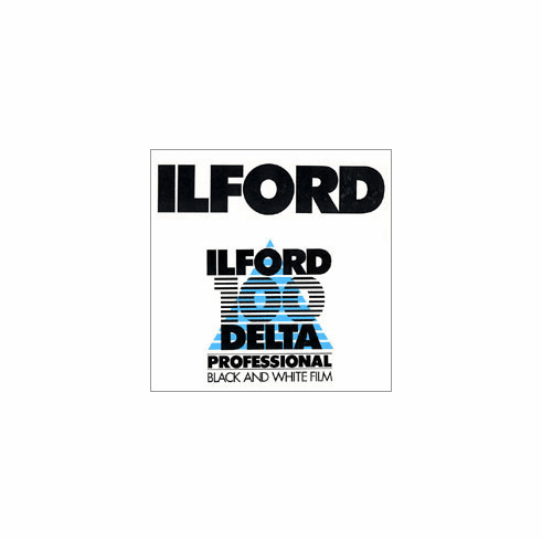 "Ilford Delta 100 ULF Program 4"" x 10"" / 25 Sheet Film"