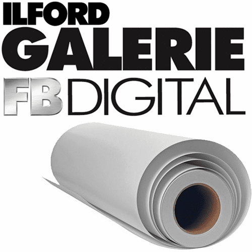 "Ilford Galerie Digital Silver Black and White Photo Paper (30"" x 98' Roll) Glossy"