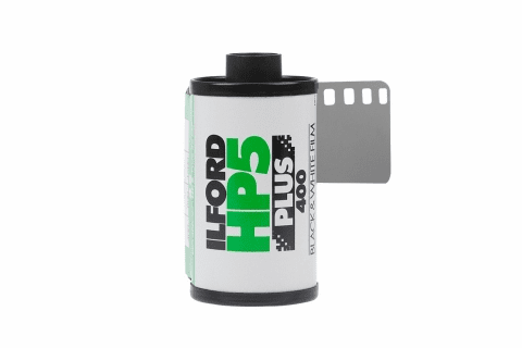 Ilford HP5+ 400 - Reloads - 35mm x 24 exp Black and White Film