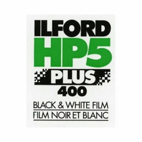 "Ilford HP5+ 400 ULF Program 2.25"" x 3.25"" / 25 Sheet Film"
