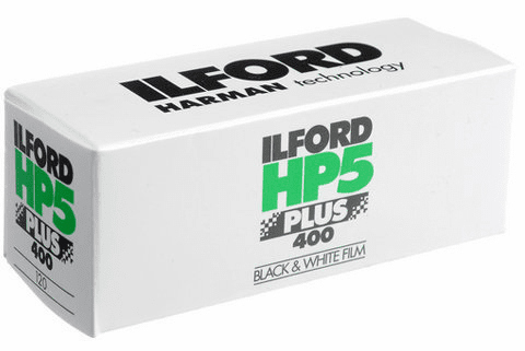 Ilford HP5 Plus 400 120 Medium Format