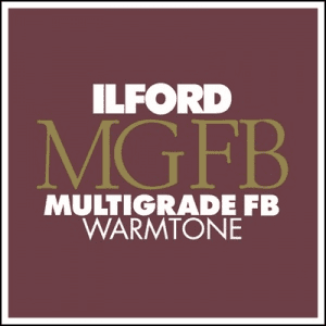 Ilford Multigrade FB Warmtone Fiber Base Paper 8 x 10 100 Sheets, Semi-Matte