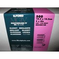 "Ilford Multigrade IV RC Deluxe MGD.44M Black & White Variable Contrast Paper 4"" x 6"", Glossy, 500 Sheets"