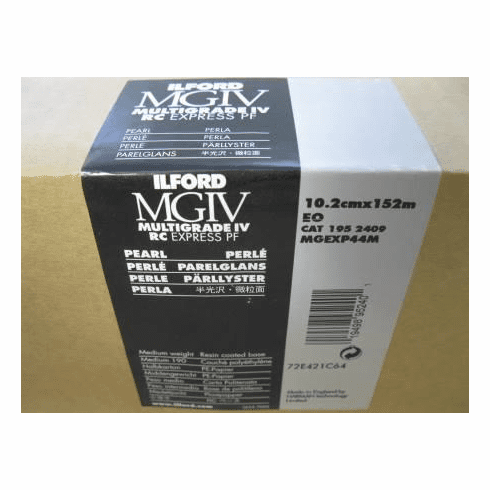 "Ilford MultiGrade IV RC Express Paper 4"" x 500' (10.2cm x  152m) Roll Pearl"