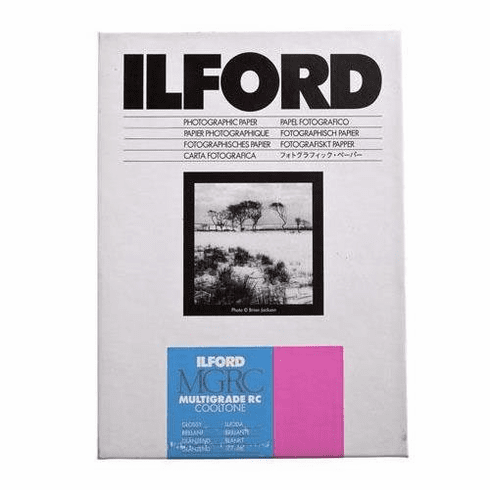 "Ilford Multigrade RC Cooltone Glossy 11 X 14"", 50 Sheets"