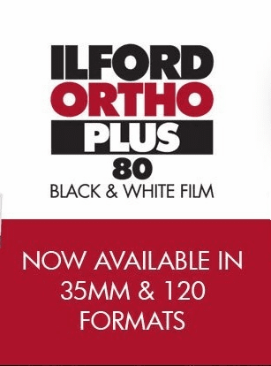 Ilford Ortho Plus Black and White Film